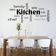 pochoir cuisine cuisine mots phrases mur sticker chambre salon devis