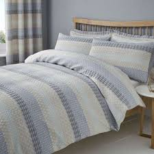 elements mason grey jacquard duvet cover and pillowcase set dunelm