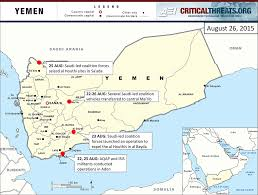 Ada Michigan Map by 2015 Yemen Crisis Situation Report August 26 Critical Threats