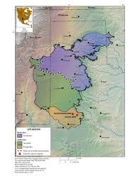 Us And Mexico Map Usgs Estimates 40 Million Pounds Of Potential Uranium Resources In