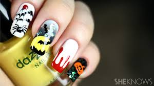halloween nail art you must see and how to create it yourself