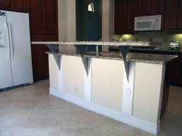 Iron Corbels For Granite Countertops Have You Heard Of Floating Countertop Support Brackets Metro