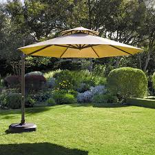 11 Ft Offset Patio Umbrella Set Cantilever Umbrella 11 Ft Sam S Club