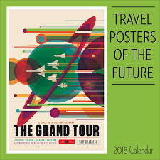 travel posters images Travel posters of the future 2018 wall calendar jpg