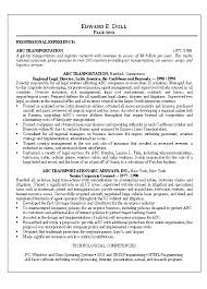 An Example Of A Cover Letter For A Resume by Lawyer Resume Example