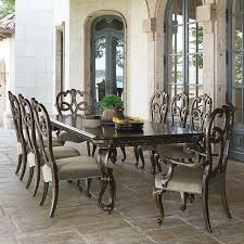 9 dining room set bernhardt villa medici 9 dining set with splat back chairs