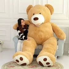 big bears for valentines day vercart 8 5 foot 102 light brown teddy