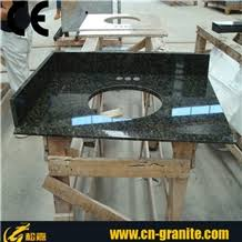 One Piece Bathroom Vanity Tops by Black Granite Countertops Granite Vanity Top One Piece Vanity