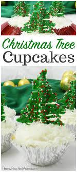 easy tree cupcakes treat idea