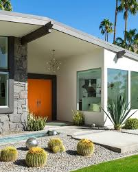 mid century homes in palm springs