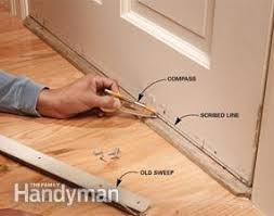 Exterior Door Weatherstripping Bottom Replace Your Weather Family Handyman