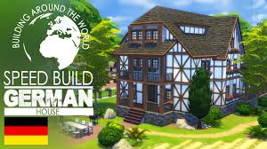 the sims 4 speed build german house around the world