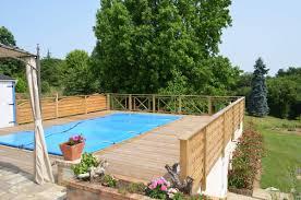 piscine sur pilotis entourage piscine bois de jardin