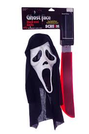 scream ghost face mask u0026 blood oozing knife ages 15