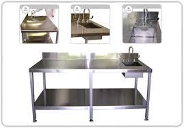 restaurant kitchen furniture stainless steel tables stainless steel chef tables chef table
