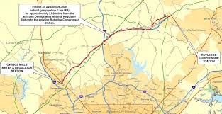 Map Of Maryland Counties Hearing On Stopped Gas Pipeline May Have Scant Impact In Harford