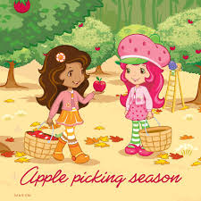 strawberry margarita cartoon apple picking season with strawberry shortcake and orange blossom