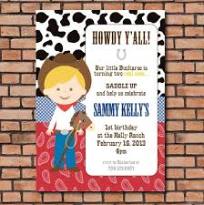 items similar to cowboy party invitation cowgirl party invitation
