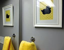 yellow and gray bathroom ideas yellow grey bathroom decor ideas gray elpro me