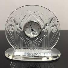 Lalique Vases Ebay Lalique Clock Ebay