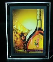 led picture frame light a1 size led slim crystal frame light box 37 x 27 advestising