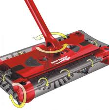 scopa per tappeti swivel sweeper scopa elettrica aspirapolvere ricaricabile shoplove it