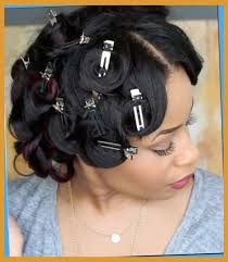 hairstyles pin curls pin curl hairstyles black hair page 122 pin curls black hairstyles