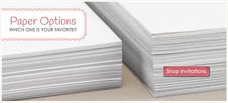 invitation paper wedding invitation paper s bridal bargains