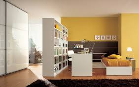 bedroom impressing modern wall shelves for kids rooms office and workspace bright teenage bedroom with big shelf and rack