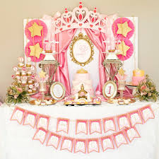 Princess Party Decorations Little Princess Birthday Party Decorations Pink And Gold 1st