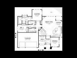 modern home floor plans youtube