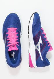 mizuno mizuno synchro md 2 neutral running shoes mazarine blue