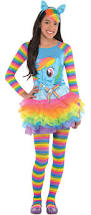 party city halloween supplies create your own girls u0027 rainbow dash costume accessories party city