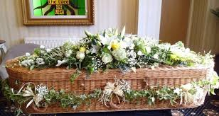 wicker casket eco friendly coffins green willow funerals