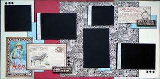 12x12 scrapbook scrapbook page kits 12x12 animal and pet layouts lilly pad pages