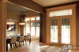 anderson french patio doors with built in blinds sliding glass