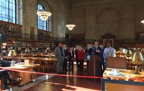 the nypl u0027s iconic rose reading room reopens to the public today