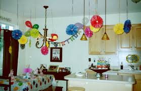 Birthday Decoration In Home Home Decor Creative Birthday Party Decoration At Home Best Home