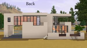 contemporary modern house mod the sims contemporary house