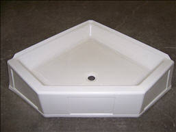 trekwood rv parts 2009 plumbing shower tub