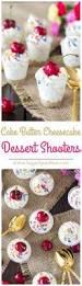 cake batter cheesecake dessert shooters sugar spun run