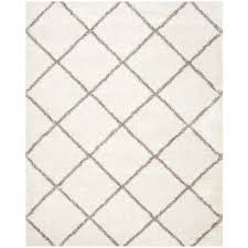 Square Area Rugs 10 X 10 Safavieh Hudson Shag Ivory Gray 8 Ft X 10 Ft Area Rug Sgh281a 8