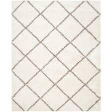 ivory rugs safavieh hudson shag gray ivory 9 ft x 12 ft area rug sgh281b 9