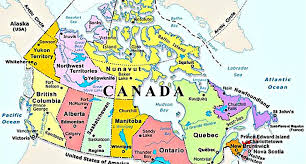 canadian map fantastic canadian beasts and where to find them science world