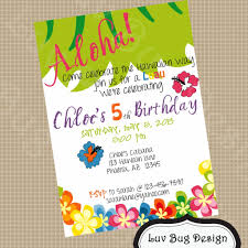 luau party invitation ideas invitation card gallery