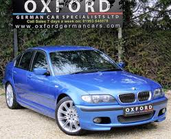 bmw 3 series 325i m sport individual estoril blue for sale from