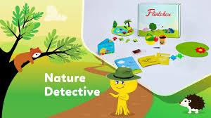 nature detective activity box for preschoolers flintobox