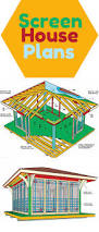 screen house plans screen house wood cabins and garden structures