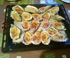 comment cuisiner des huitres huîtres gratinées au parmesan recette de huîtres gratinées au