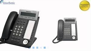 panasonic kx dt321 digital phone video summary youtube
